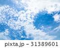 高積雲 羊雲 曇りの写真 31389601
