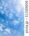 高積雲 羊雲 曇りの写真 31389606
