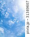 高積雲 羊雲 曇りの写真 31389607