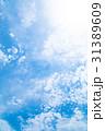 高積雲 羊雲 曇りの写真 31389609