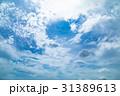 高積雲 羊雲 曇りの写真 31389613
