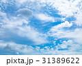 高積雲 羊雲 曇りの写真 31389622