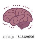 脳 脳死 脳みそのイラスト 31389656