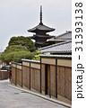 法観寺 霊応山 五重塔の写真 31393138