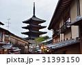 法観寺 霊応山 五重塔の写真 31393150