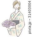 ベクター 女性 浴衣のイラスト 31403004