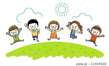 元気な子供たち 31404038