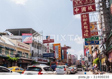 タイの首都バンコクのチャイナタウン(ヤワラート通り) 31406030