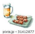 ビールと焼き鳥 31412877