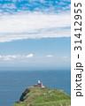 高島岬 灯台 海の写真 31412955