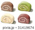 ロールケーキ4種 31419674