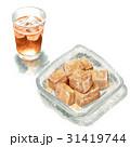 わらびもち 和菓子 おやつのイラスト 31419744