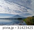 富士山 秋 雲の写真 31423425