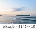 江の島 サーフィン サーファーの写真 31424415