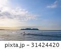 江の島 サーフィン サーファーの写真 31424420