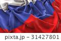 Russia Flag Ruffled Beautifully Waving 31427801