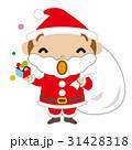 サンタクロース キャラクター クリスマス かわいい 31428318