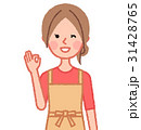OKサインをする女性 31428765