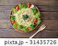 ラーメン ラーメンサラダ サラダの写真 31435726