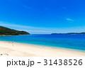 奄美大島 砂浜 ビーチの写真 31438526