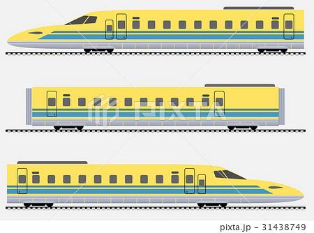 Passenger express train Vector illustration 31438749