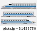 ブルー 快速 電車のイラスト 31438750