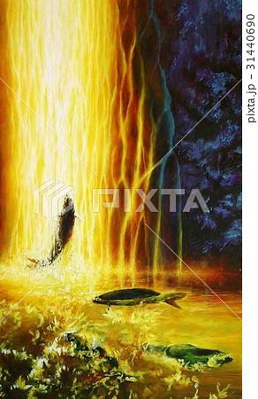 黄金の滝昇り 31440690