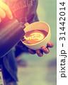 美術 コーヒー 泡立つの写真 31442014