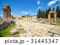 Hierapolis ancient city in Pamukkale, Turkey 31445347