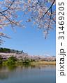 岩手山 公園 桜の写真 31469205