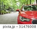 赤い車 31476008
