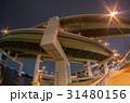 ジャンクション 高架道 立体交差の写真 31480156