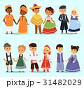 ベクトル キャラクター 文字のイラスト 31482029