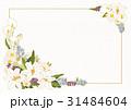 背景 葉書 飾りのイラスト 31484604