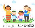 ファミリー 家庭 家族のイラスト 31484632