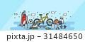 イラストレーション 袋 球技 31484650