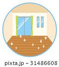 ピカピカの床 フローリング 31486608