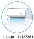 清潔なエアコン 冷房 31487264