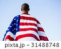 アスリート 包まれた アメリカの写真 31488748