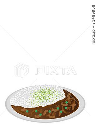 今日のご飯ハヤシライスのイラスト素材 [31489968] - PIXTA