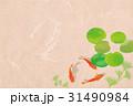 金魚 水草 魚のイラスト 31490984