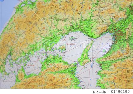 中国 四国 地方 地図