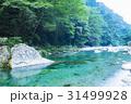 川 流れ 仁淀川の写真 31499928