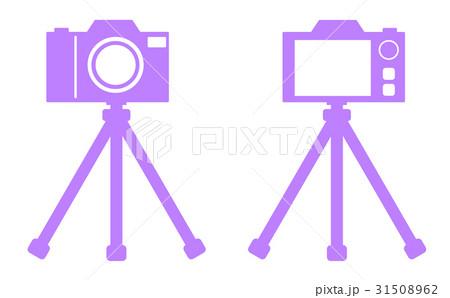 三脚とカメラのイラスト素材 [31508962] - PIXTA