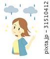 雨の日のヘアスタイル(嬉しい) 31510412