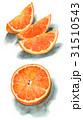 果物 フルーツ オレンジのイラスト 31510543