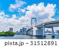 晴れ 東京 東京湾の写真 31512891