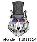 おおかみ オオカミ 狼のイラスト 31513926