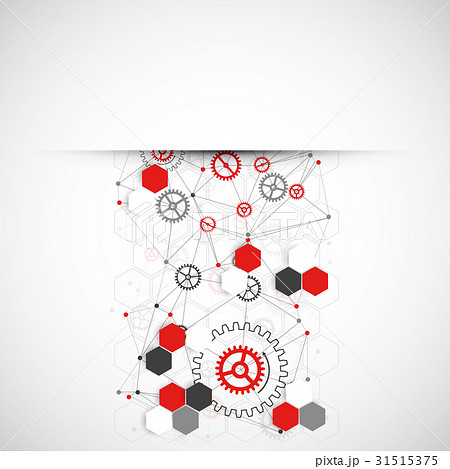 Abstract technology background. Vectorのイラスト素材 [31515375] - PIXTA