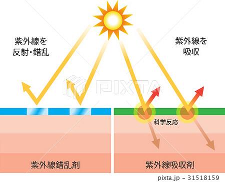 紫外線吸収剤 紫外線錯乱剤 31518159